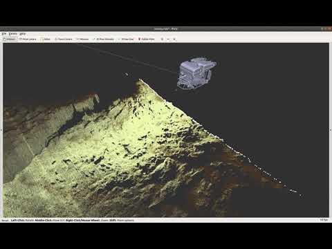 Norbit Real Time Mapping Demo Using ROS