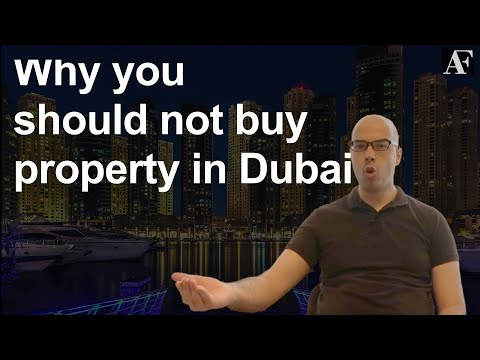 Why you shouldn't buy Dubai property