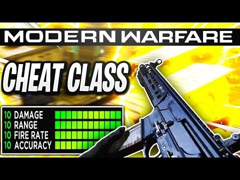 Insane *CHEAT* Class Setup In Modern Warfare Best Class Setup! (COD MW)