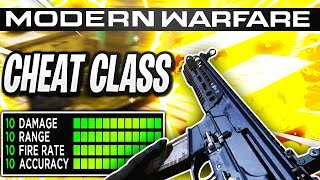 Insane *CHEAT* Class Setup in Modern Warfare Best Class Setup! (COD MW)