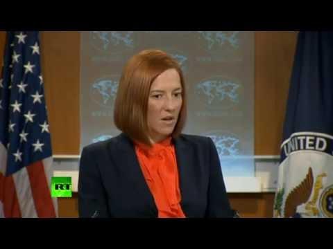 U.S. Jen Psaki: Ukranian Civilians and Children Should be Killed