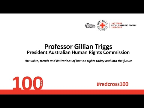 Professor Gillian Triggs - 2014 Centenary Summit