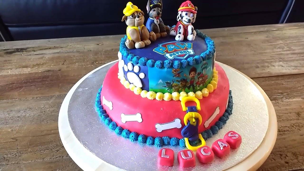 Favori Cake Design Paw Patrol (gâteau Pat Patrouille) - YouTube ZN12