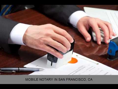 Mobile Notary San Francisco CA Elite Signing Service