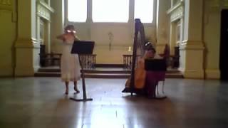 Ravi Shankar - L'Aube Enchantee - Syrinx Flute and Harp Duo - Holly Cook and Tamara Young.mp4