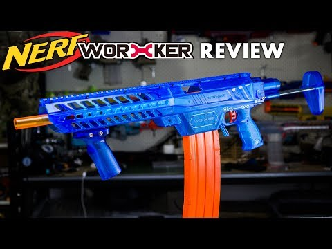 The NERF Recon Killer!? 200FPS - Worker PROPHECY Review & Mod Guide