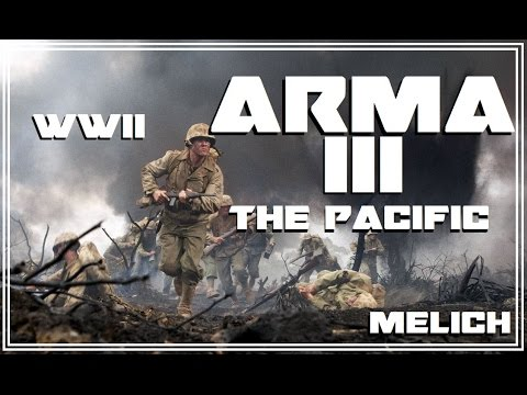 ARMA 3 WW2 THE PACIFIC : Tarawa Airfield Assault !! [Faces of War ]