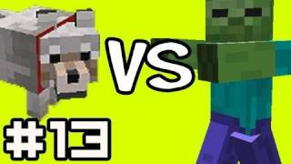 Minecraft Solo: 1000 ZOMBIES! vs 200 Wolves  w/ Nova Ep.13 (Singleplayer Survival)