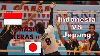 Download Video Smash keras Indonesia Vs Jepang Warming Up MP3 3GP MP4