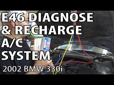 E46 How To Diagnose & Refill A/C System #m54rebuild 30