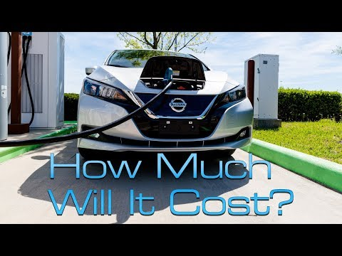 2019 Nissan LEAF e-Plus: Here's How Much It Will Cost.