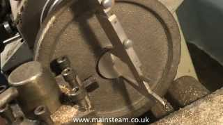 HOW TO MACHINE A STEAM ENGINE FLYWHEEL - MODEL ENGINEERING FOR BEGINNERS #7