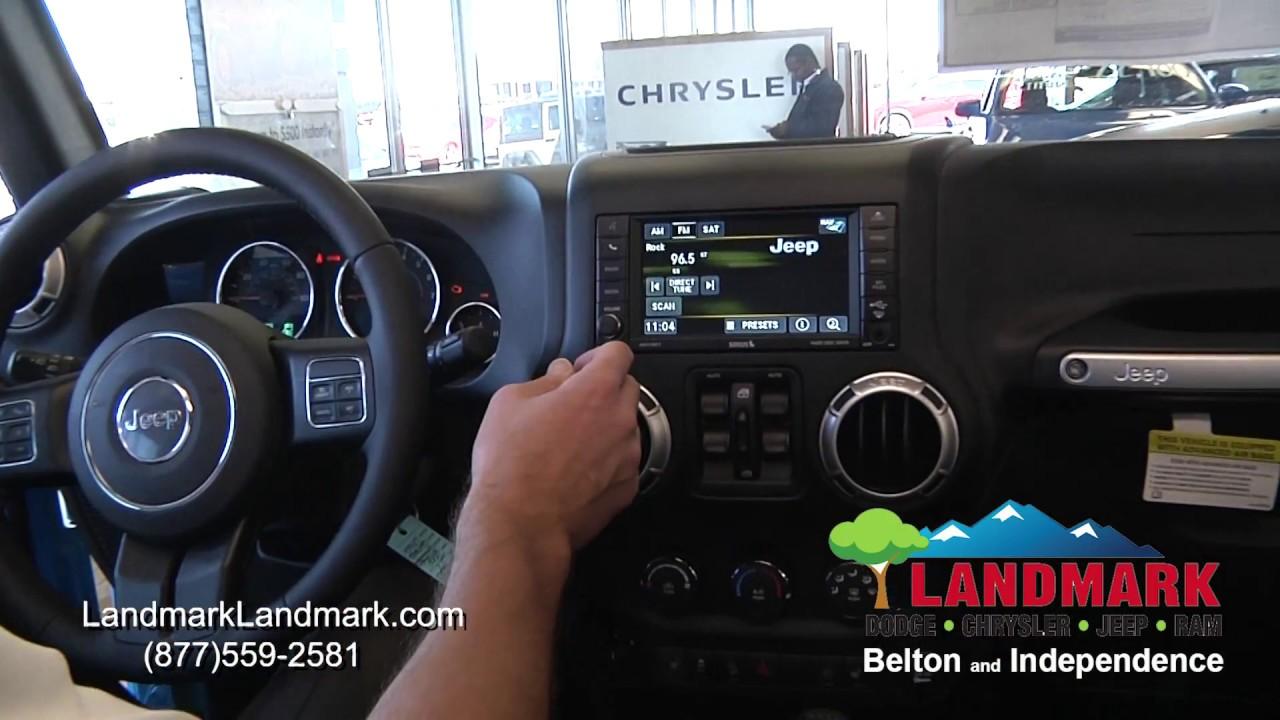 2018 Jeep Wrangler Uconnect® 430N System