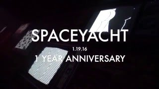 SPACEYACHT 1 YR ANNIVERSARY @ SOUND (Billy Kenny, LondonBridge, Aaron Jackson, Bijou & Ryan Collins)
