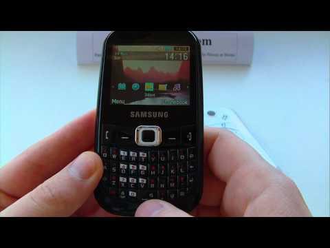 Samsung GT-B3210 Corby TXT, B3210 Unlock & input / enter code.AVI