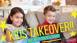 Download Kids Q&A with Aden & Ariah! 🤣 Mp3 and Videos