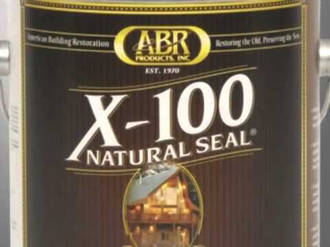 X100 Natural Seal - Simply The Best Wood Sealer