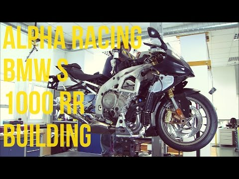 Alpha Racing BMW S 1000 RR Building Process