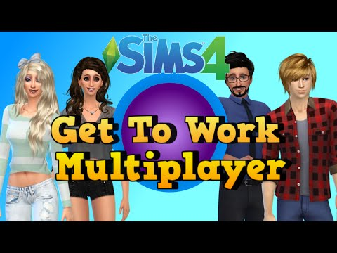 The Sims Get To Work Multiplayer Episode Bunch Of Roomies