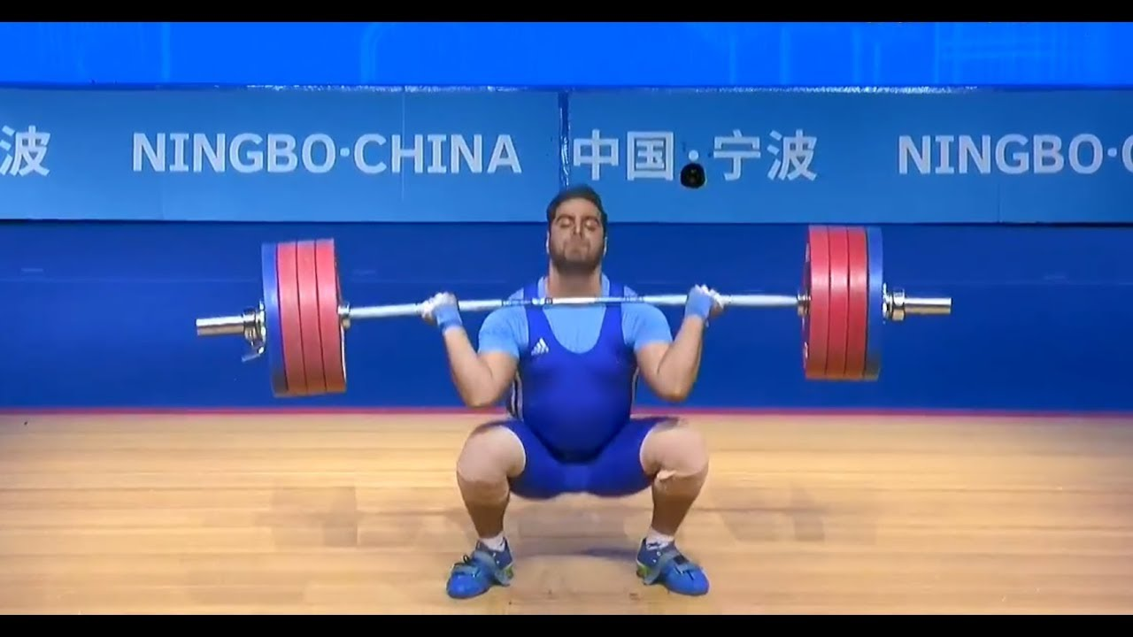 Asian Weightlifting Championships 2019 Men S 102kg Youtube
