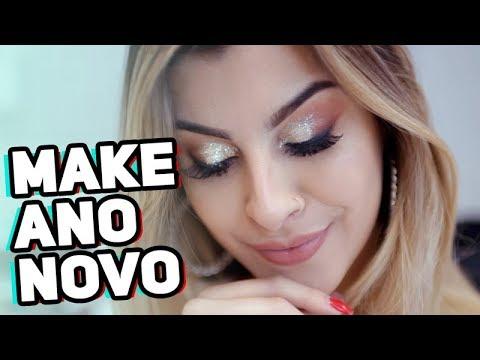 MAKE BAPHO PARA O ANO NOVO!!! com Mari Maria | Nah Cardoso
