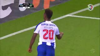 Goal   Golo Zé Luís: FC Porto (2)-0 Vitória FC (Liga 19/20 #2)