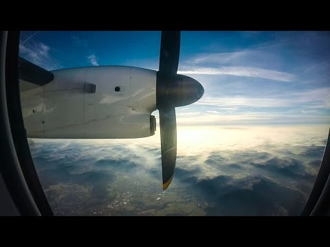 SWISS Full Flight | Bombardier Dash 8 Q 400 | Stuttgart - Zu