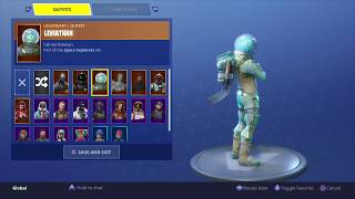 Fortnite: Battle Royale - New Back Bling - Offworld Rig (The Visitor) - On Leviathan Skin