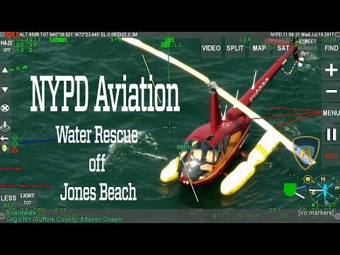 NYPD Helps Rescue Two Off Long Island