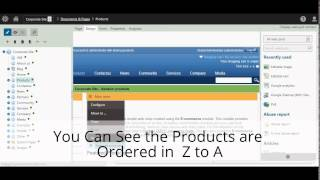 Sorting & Paging of Product Data list in Kentico 8