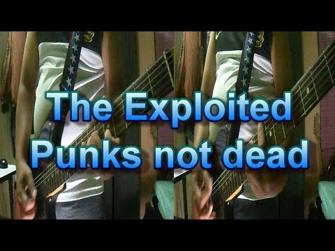 The Exploited - Punks not dead (Guitar Cover)