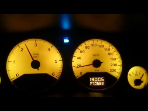 Opel Astra G 2.0 DTI Acceleration 0-100