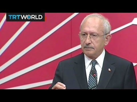 Turkey's opposition CHP leader reacts to referendum results