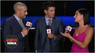 Recapping Leon Edwards' win and Greg Hardy and Walt Harris' TKOs | UFC Fight Night | ESPN MMA