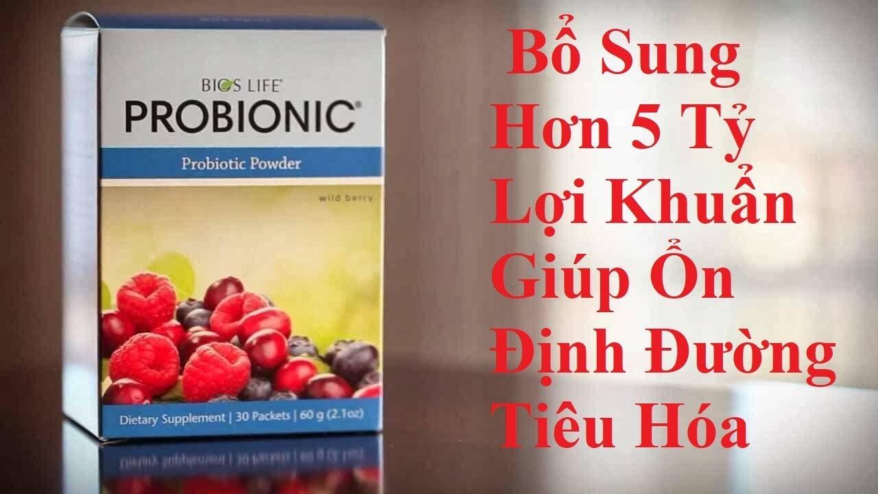 [ Thuốc Gia Đình ] Probionic Unicity – Bổ Sung Hơn 5 Tỷ Lợi Khuẩn Giúp Ổn Định Đường Tiêu Hóa