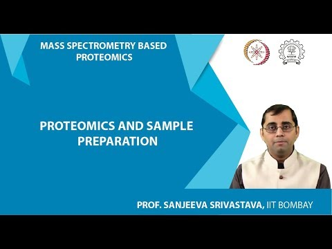 MOOC NPTEL Lecture 2 Mass spectrometry