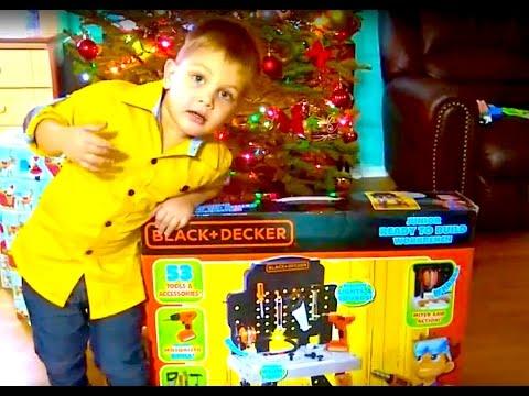 Рабочий стол настоящего мужчины. Подарок от бабушки. Black + Decker