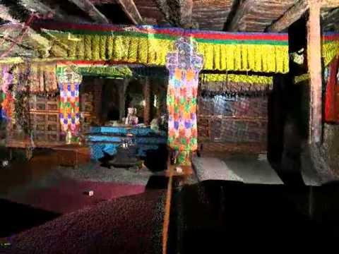 LiDAR - Dangkhar Monastery, Assembly Hall