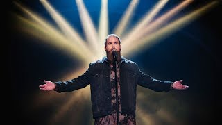 Chris Kläfford sjunger Take me to church i Idol 2017 - Idol Sverige (TV4)