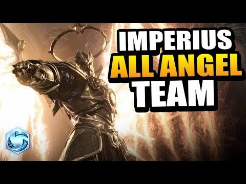 Imperius - ANGEL ONLY team! // Heroes of the Storm PTR