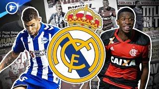 Le Real Madrid boucle deux recrues pour 90 M€   Revue de presse