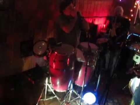 CUBAN GETAWAY performed by Shecky and the Twangtones at Fadeley's 121114