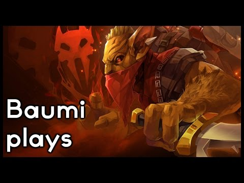 Dota 2 | ROAMING, GANKING, KILLING!! | Baumi plays Bounty Hunter
