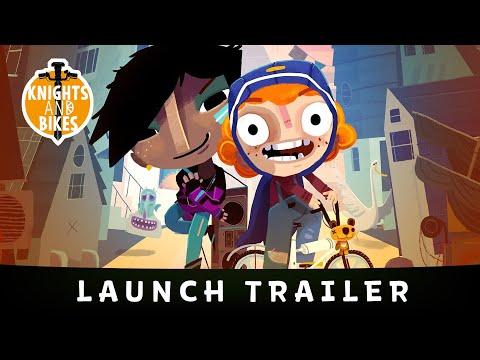 Double Fine Presents // Knights and Bikes - Launch Trailer I Wanna Ride My Bike!