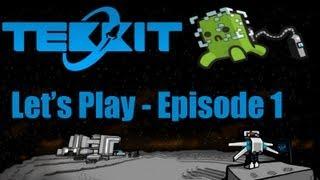Let's Play Tekkit Main #1: First Machines!