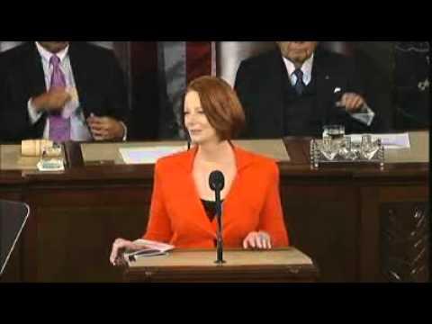 Gillard Pledges 'firm Friendship' With US