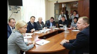 Юлия Светличная провела прием граждан в Краснокутском районе