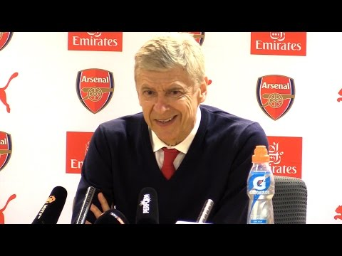 Arsenal 2-0 Manchester United - Arsene Wenger Full Post Match Press Conference