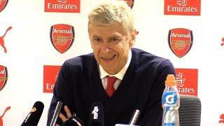 Arsenal 2-0 Manchester United - Arsene Wenger Full Post Match Press Conference