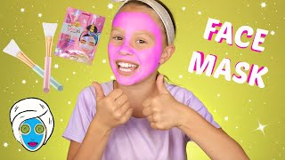 Colorful Face Mask Skincare Fun For Kids!